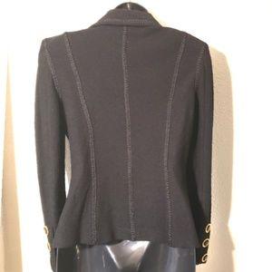 St. John Jackets & Coats - ST. JOHN Collection vintage black knit blazer sz 6